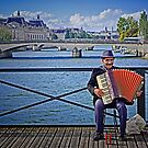 The Accordeonist by cclaude