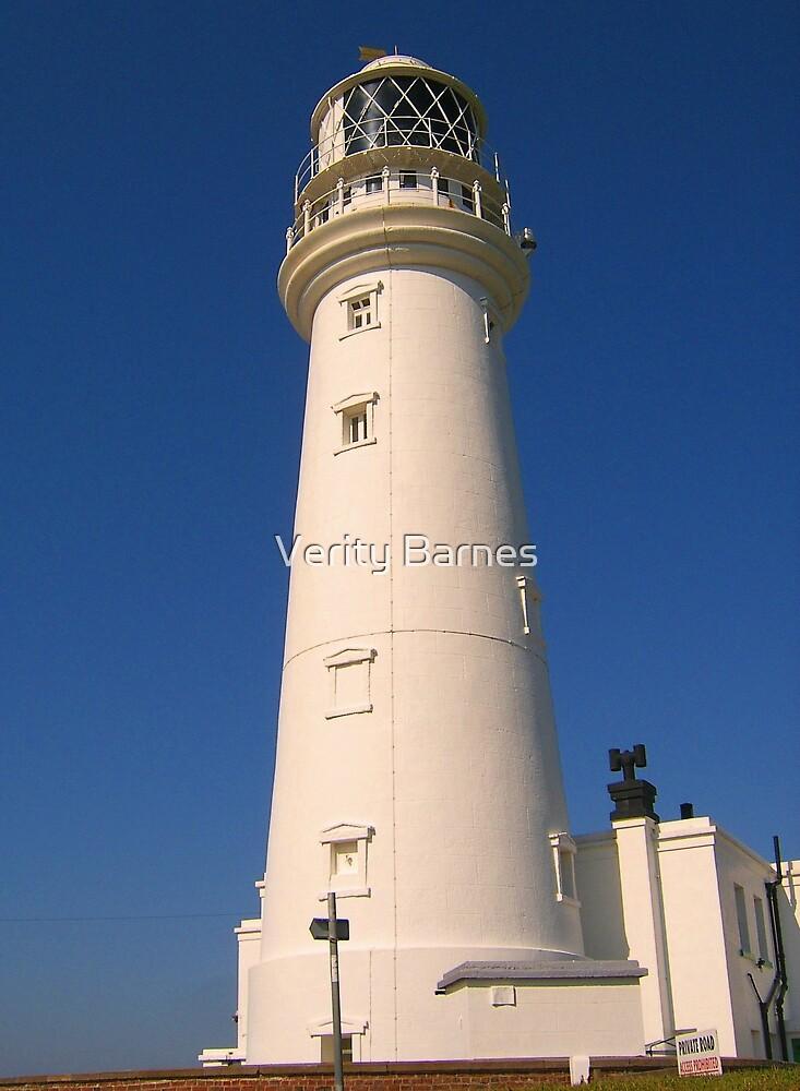 Flamborough Lighthouse by Verity Barnes