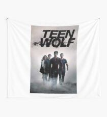 logo teen wolf Wall Tapestry