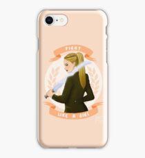 Lydia - Fight like a girl iPhone Case/Skin