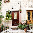 Doors on Kotor Porch by dbvirago