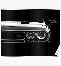 Dodge Challenger R/T - high contrast Poster