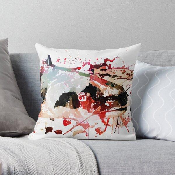 Murder Catfish Throw Pillow