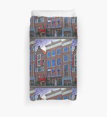 Anne Frank Home In Amsterdam Duvet Cover