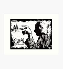 crystal castles Art Print