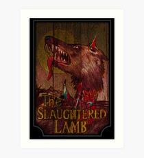 American Werewolf - Slaughtered Lamb Art Print