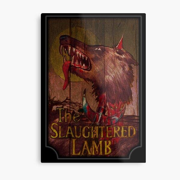 American Werewolf - Slaughtered Lamb Metal Print