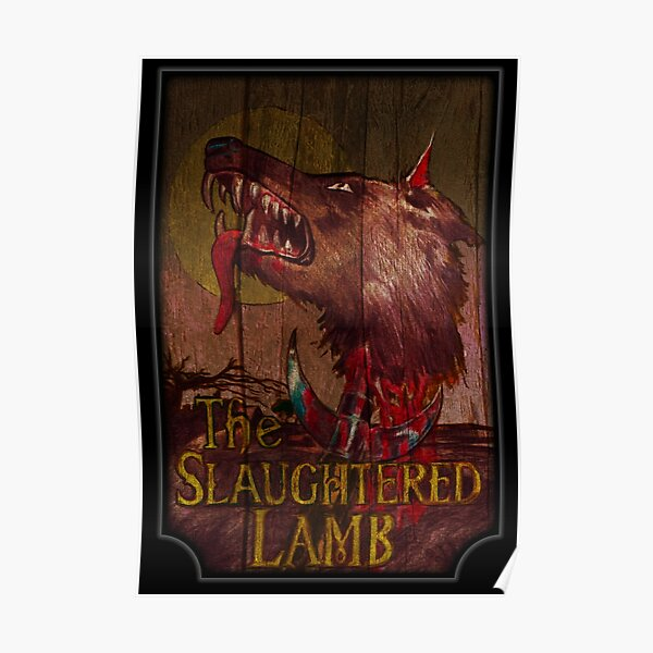 American Werewolf - Slaughtered Lamb Poster