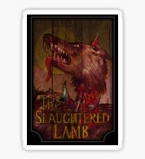American Werewolf - Slaughtered Lamb Sticker