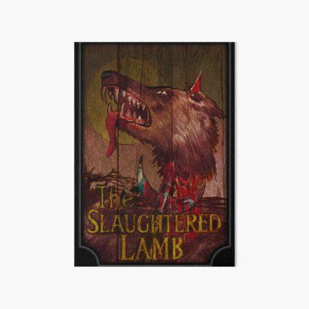 Hombre lobo americano - Cordero sacrificado Lámina rígida