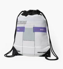 Snes Console Drawstring Bag