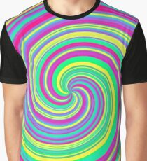 Psychedelic Swirl Graphic T-Shirt