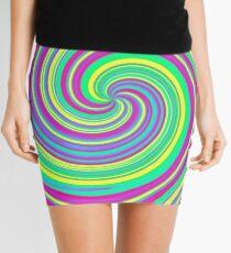 Psychedelic Swirl Mini Skirt