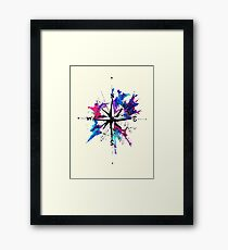 I have you as my compass Framed Print