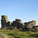 Hound Tor in December by lezvee