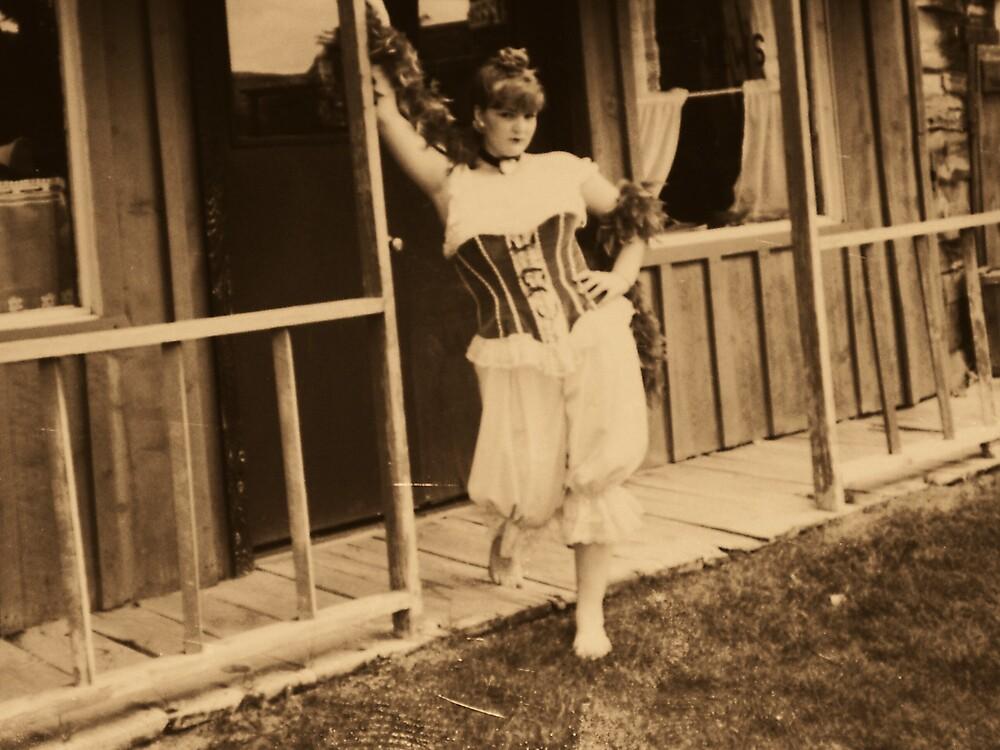 saloon girl on the prowel by kristal ingersoll
