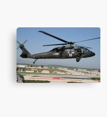 MEDEVAC helicopter Canvas Print