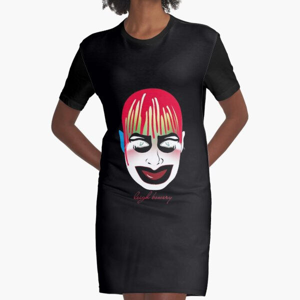 leigh bowery Graphic T-Shirt Dress