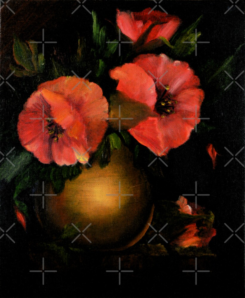 Red Poppies by Rachel Leigh