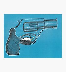 Weapon And Peace Photographic Print