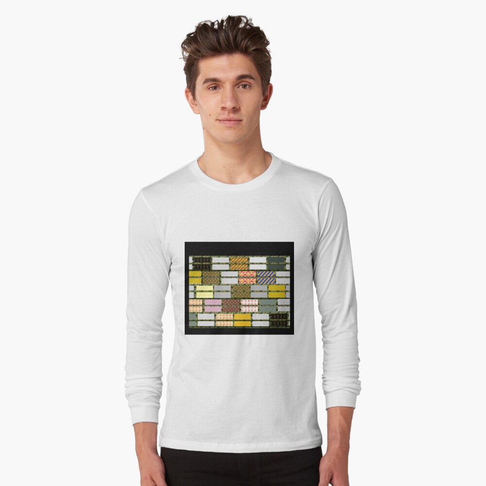 RAGGY QUILT cheater design, gifts and decor Long Sleeve T-Shirt Front