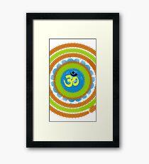 Dharma Om  Framed Print
