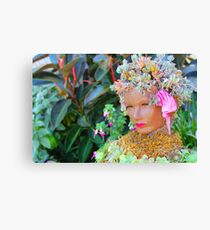 Lady Bloom Image By Rich AMeN Gill Canvas Print