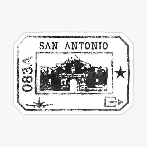 San Antonio Passport  Sticker