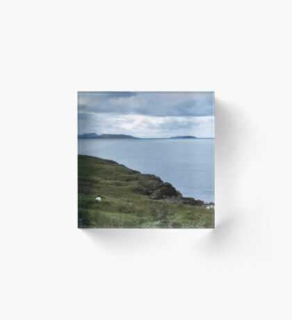 The Slate Islands & The Garvellachs Acrylic Block