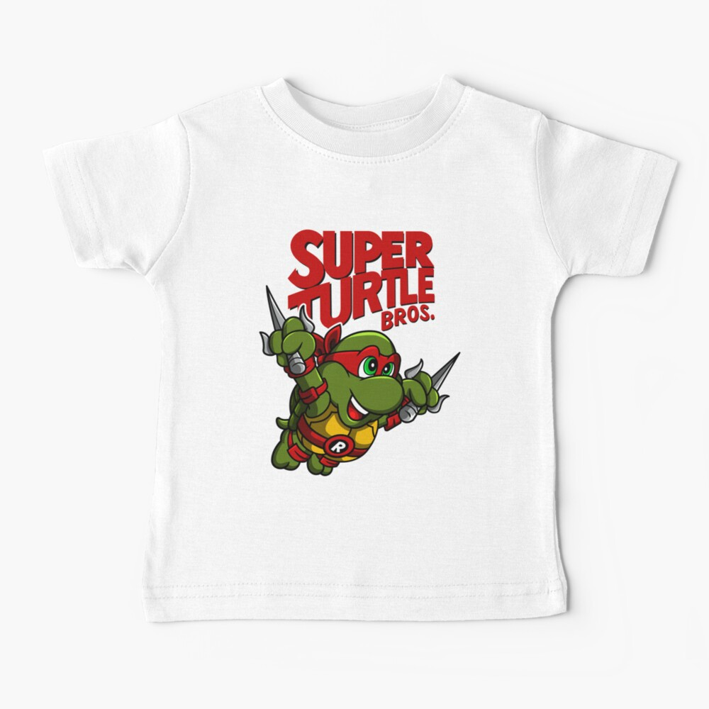 Super Turtle Bros - Raph Baby T-Shirt
