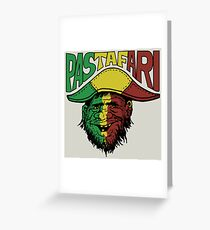 Pastafari Pirate Greeting Card
