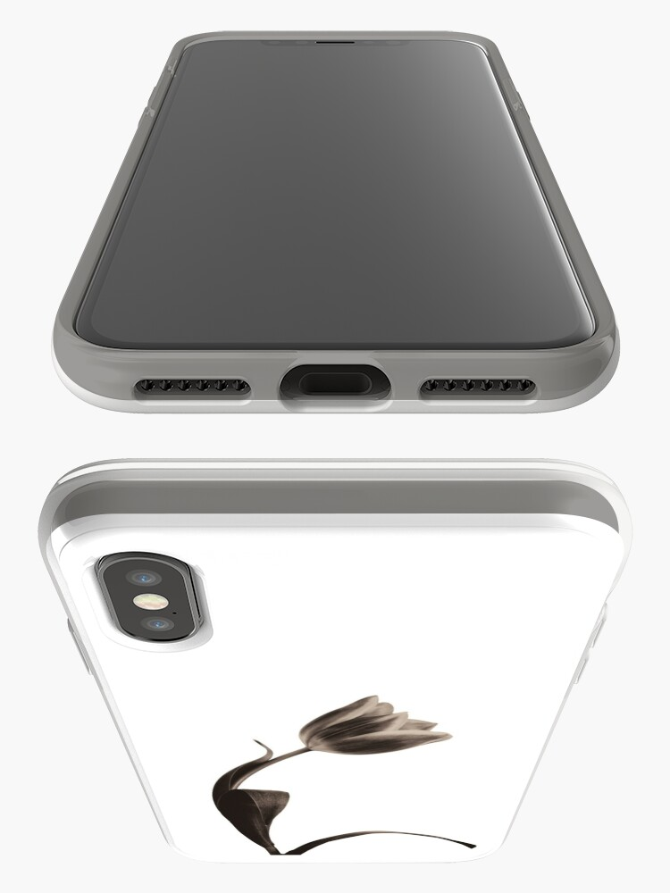 Alternate view of Antique Tulip iPhone Case & Cover