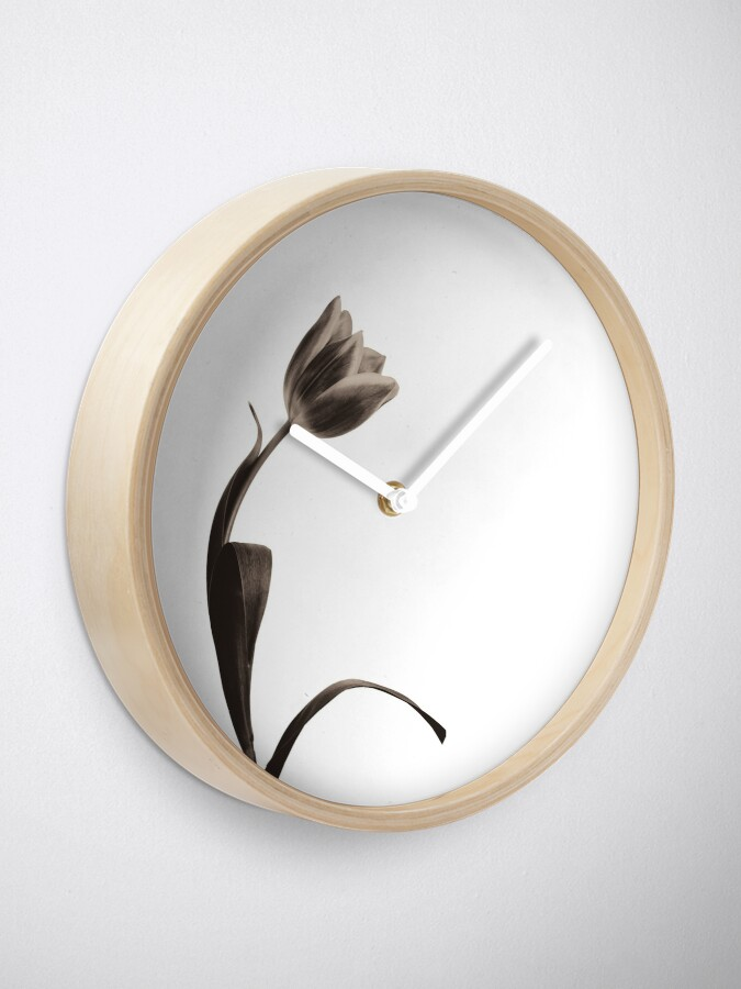 Alternate view of Antique Tulip Clock