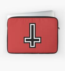 Inverted cross Laptop Sleeve