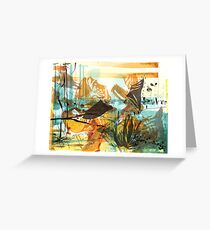 Time-Place Elegy Greeting Card