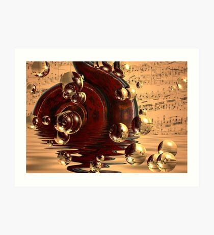 Musical dreams Art Print
