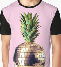 Ananas party (pineapple) pink version Graphic T-Shirt
