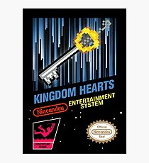 NES Kingdom Hearts Photographic Print