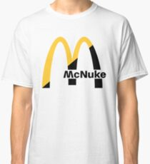 MCNUKE WHITE Classic T-Shirt