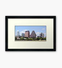 Downtown Austin, Texas Cityscape Framed Print