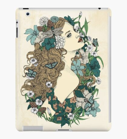 Scent Of Spring iPad Case/Skin