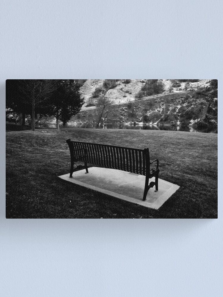 Alternate view of Saving a Place for You Canvas Print