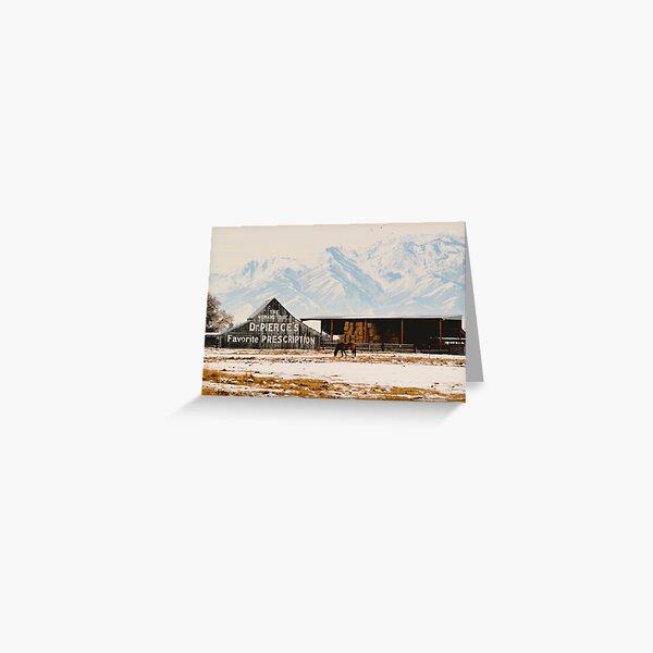 Logan Americana Greeting Card