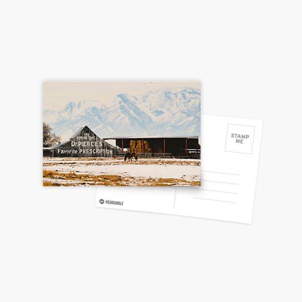 Logan Americana Postcard