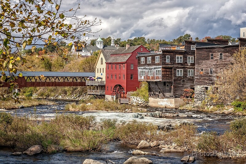 Ammonoosuc River by Photos by Healy
