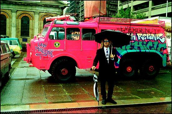 The Lady Penelope ...Emergency Earth Repair Vehicle  by Juilee  Pryor