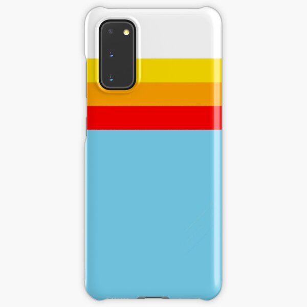Sky Blue Stripes Samsung Galaxy Snap Case