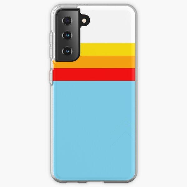 Sky Blue Stripes Samsung Galaxy Soft Case