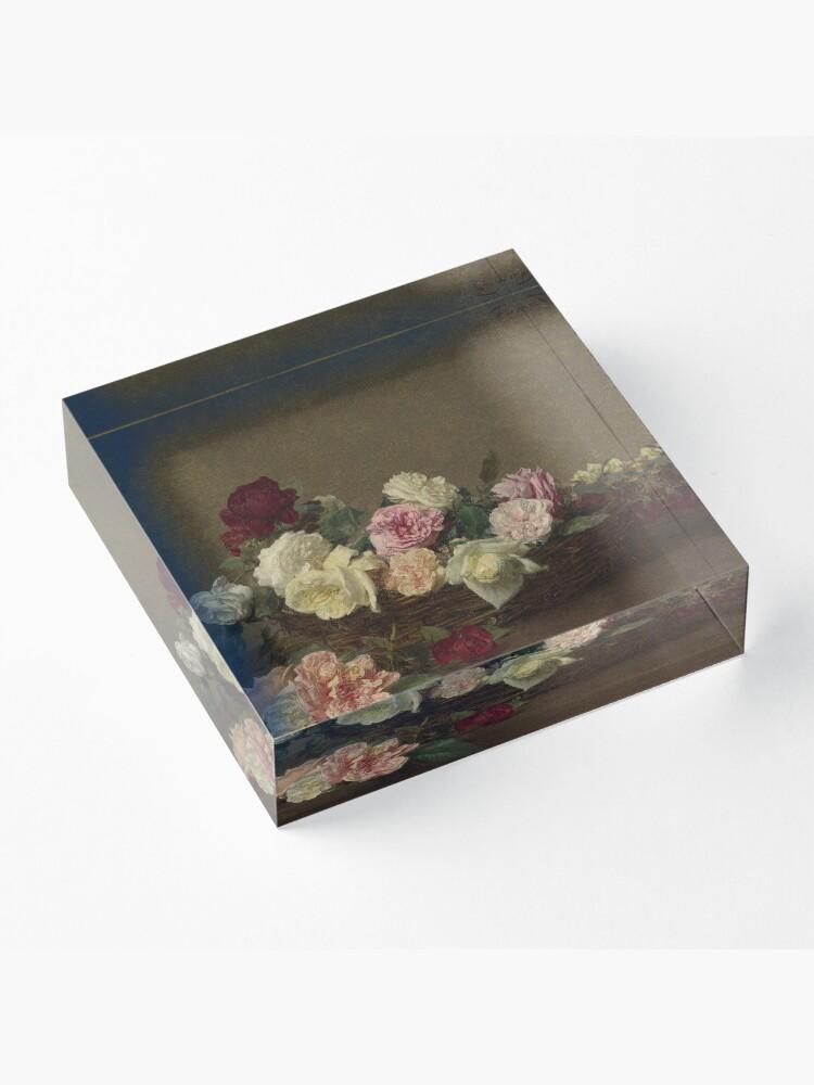 Alternate view of Ignace-Henri-Theodore Fantin-Latour - A Basket Of Roses Acrylic Block