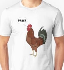 Chibi Rhode Island Red Rooster Unisex T-Shirt